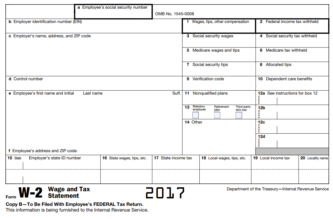 No Form W-2, Wage and Tax Statement? Get Help From IRS
